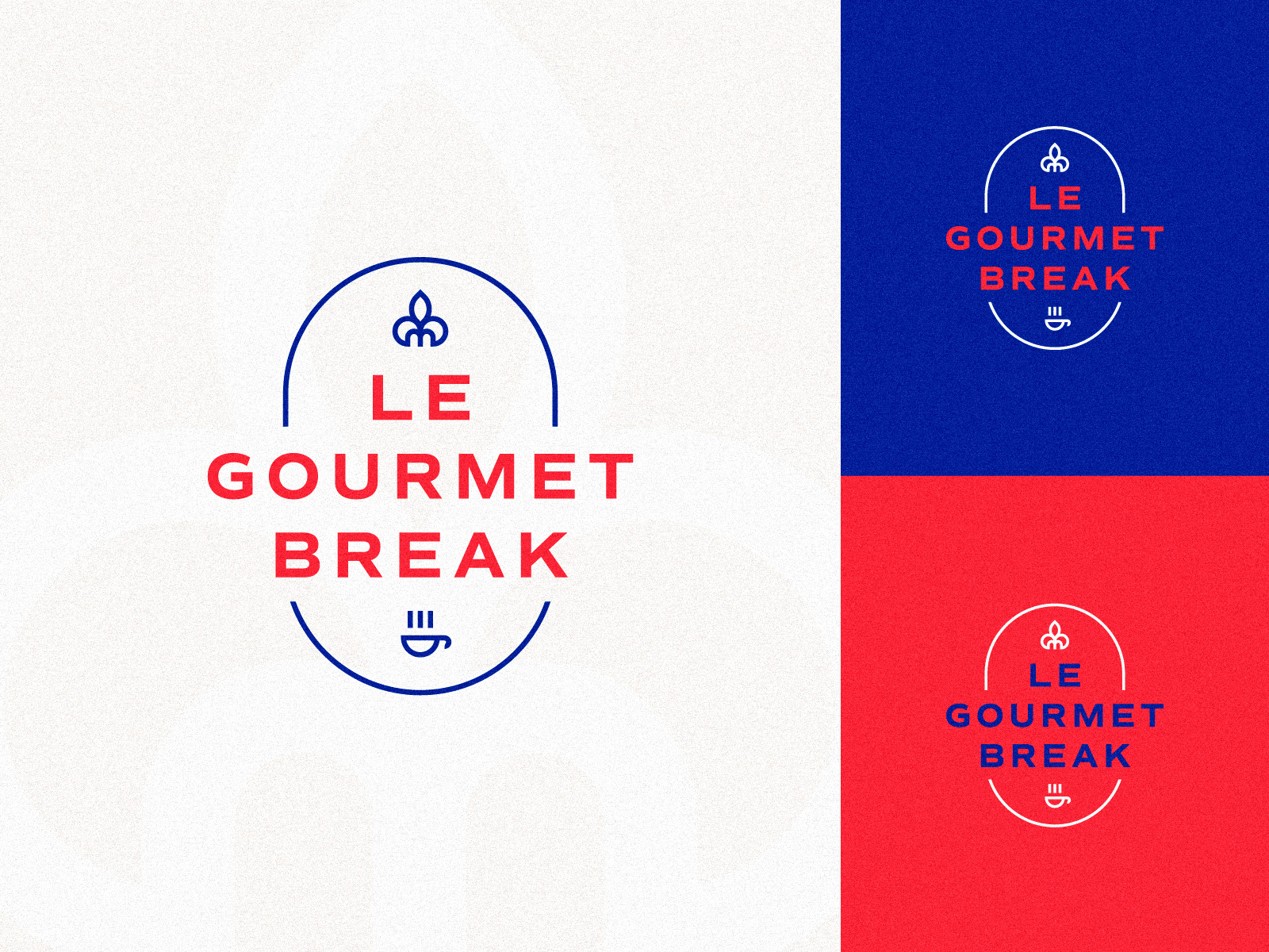 Concept logo, french bakery